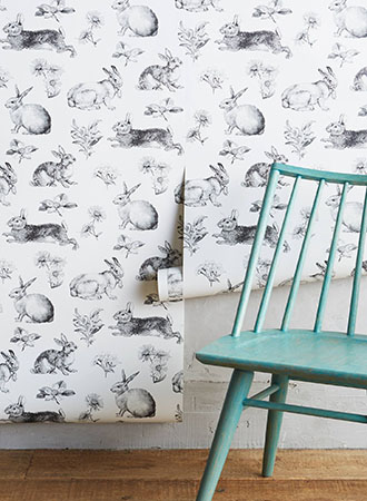 toile kitchen wallpaper ideas