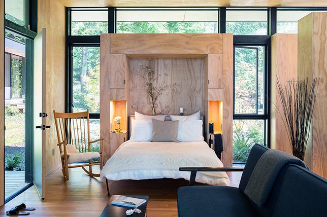 modern wall bed bedroom storage ideas