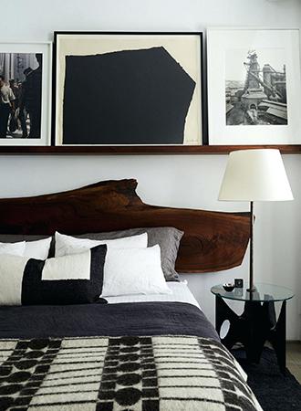 Picture rail bedroom storage ideas