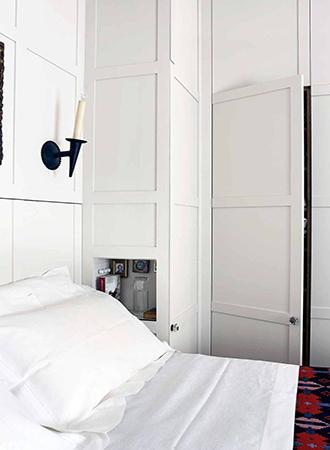 built-in bedroom storage ideas