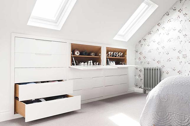 Shoe bedroom storage ideas