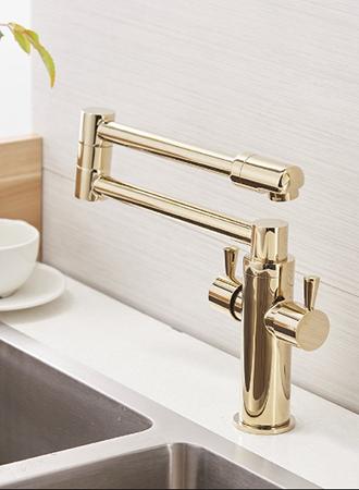 best gold kitchen faucet