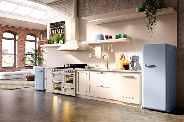 Retro kitchen vintage appliances