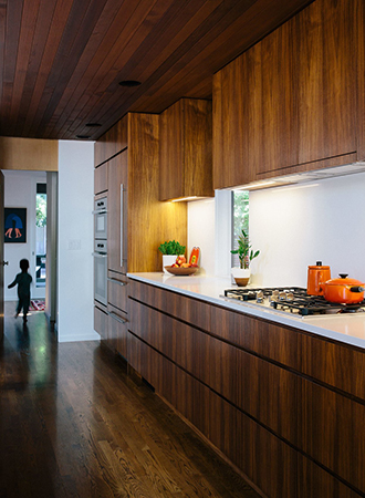 Ideas for modern kitchen cabinets made from paneled wood