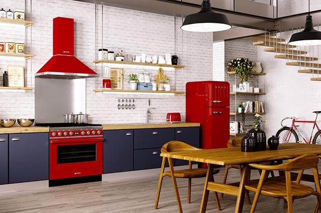 Retro kitchen appliances