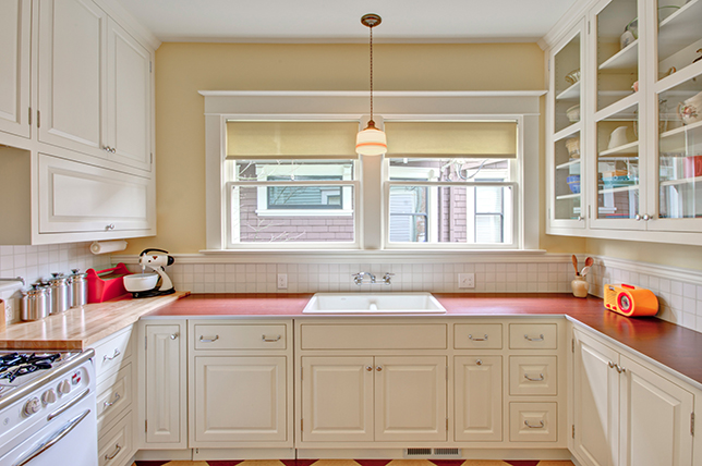 Retro kitchen countertop