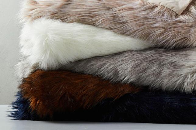 best faux fur blanket 2019