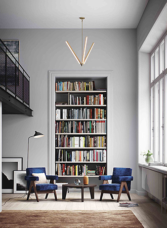 best ideas for home library for vertical space