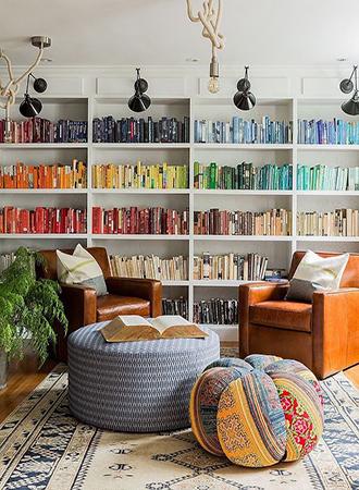 best home library ideas book arrangement