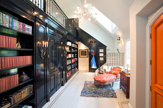 dramatic best ideas for the home library