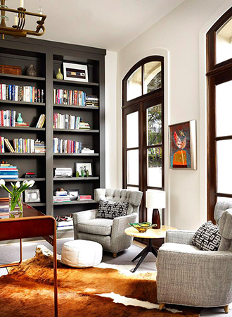 best home library ideas table