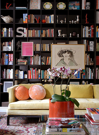 best ideas for the home library colorful