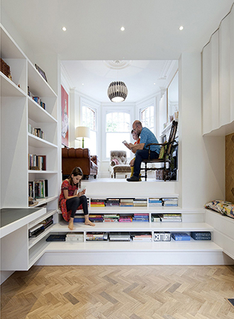 best ideas for the home library space saving ideas