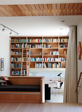 fun ideas for the home library