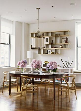 floating shelves dining room walls decor ideas