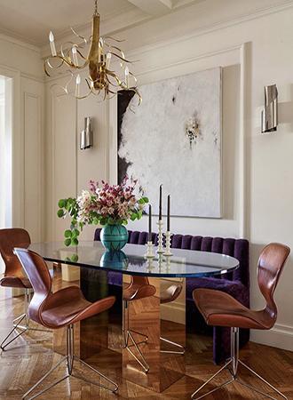 oversized art dining room walls decor ideas