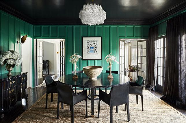 paneled dining room walls decoration ideas
