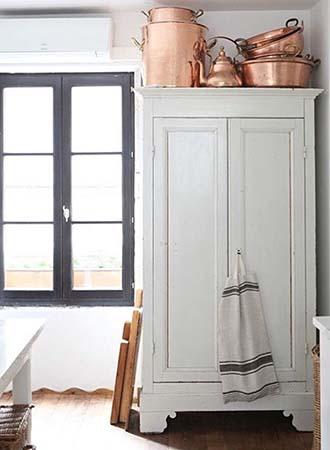Armoir Storage Kitchen Decor and Organization Tips