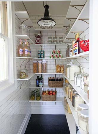 Great pantry kitchen decor and organization tips