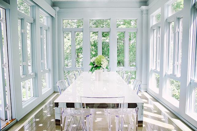 Make your home more expensive metallics