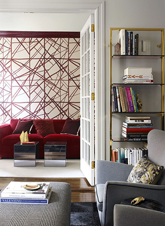 Living room renovation ideas wallpaper