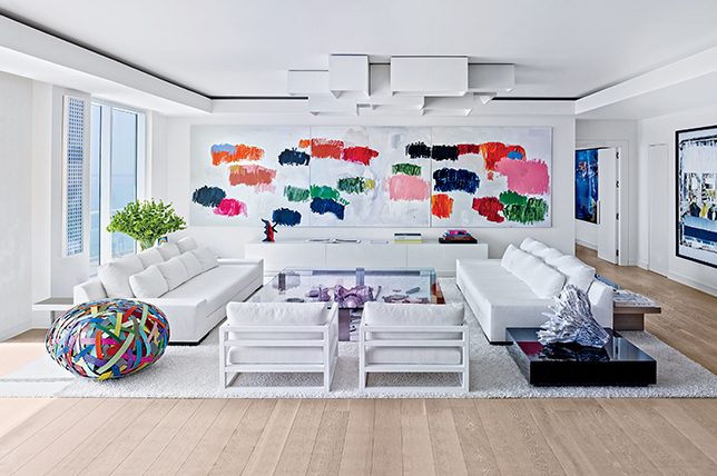 Summer home decor trends color