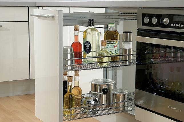 Galley kitchen ideas intelligent storage solutions
