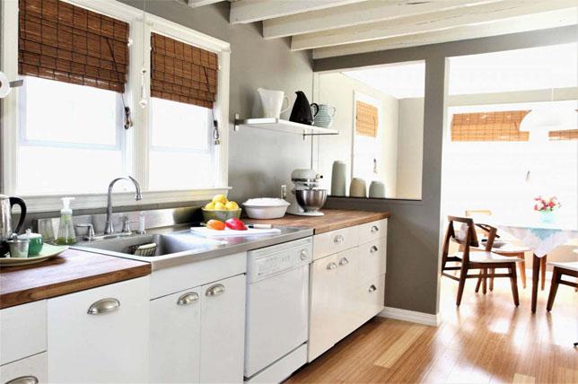 Galley kitchen ideas cabinets