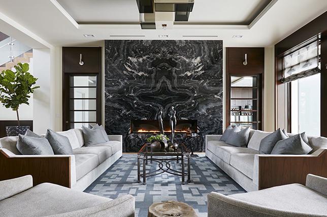 modern fireplace pinterest home decor trends 2019