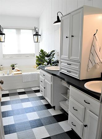 painted floor tiles pinterest home decor trends 2019