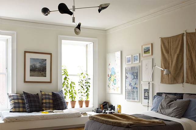 how to mismatch the placement of furniture