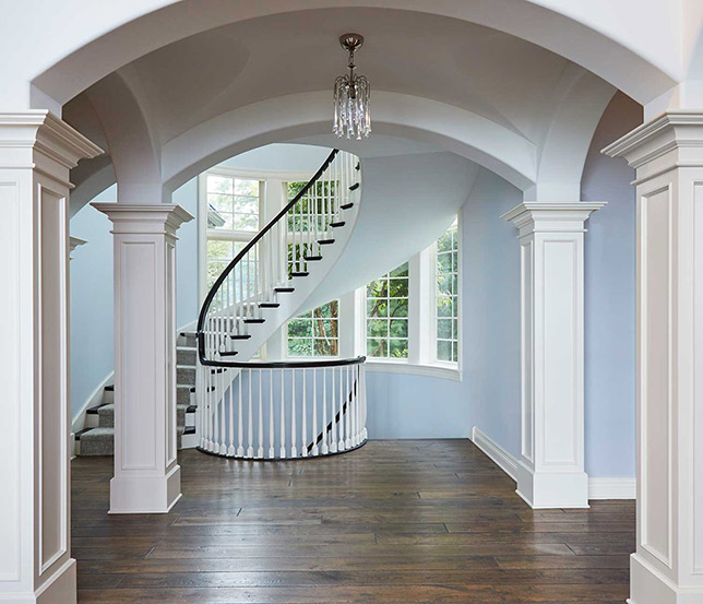 modern ideas for vaulted ceilings