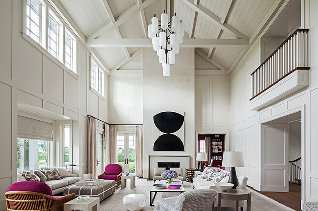 stylish ideas for vaulted ceilings