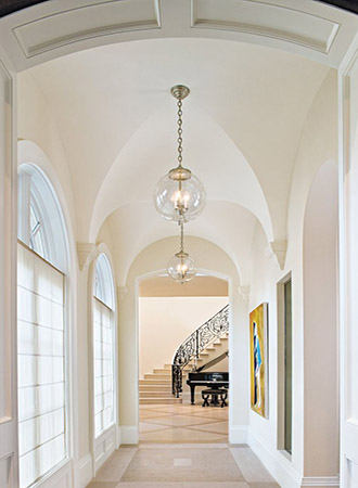 Ideas for arched vaulted ceilings