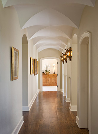 classic ideas for vaulted ceilings