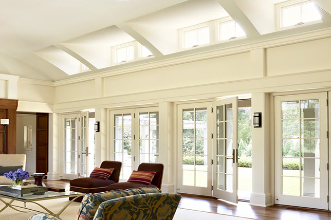 Ideas for vaulted ceilings with natural light