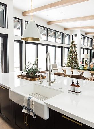 modern minimal farmhouse kitchen ideas