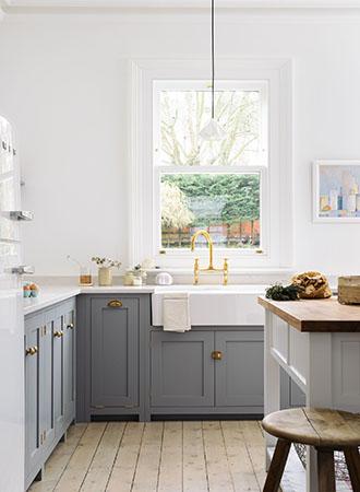 modern farmhouse kitchen ideas butler sink