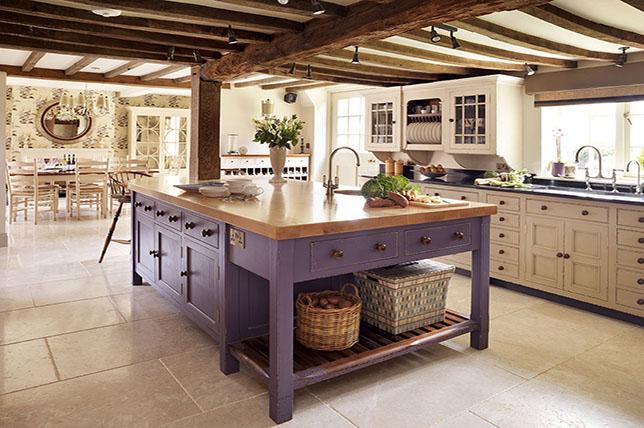 modern farmhouse kitchen ideas wooden counter top