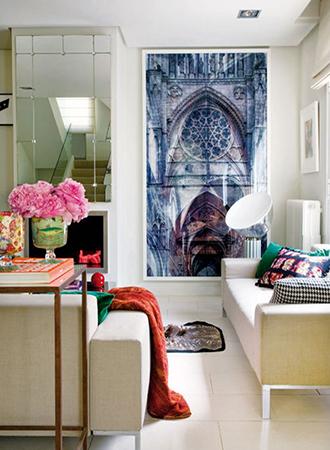 Living room wall decor ideas large format art