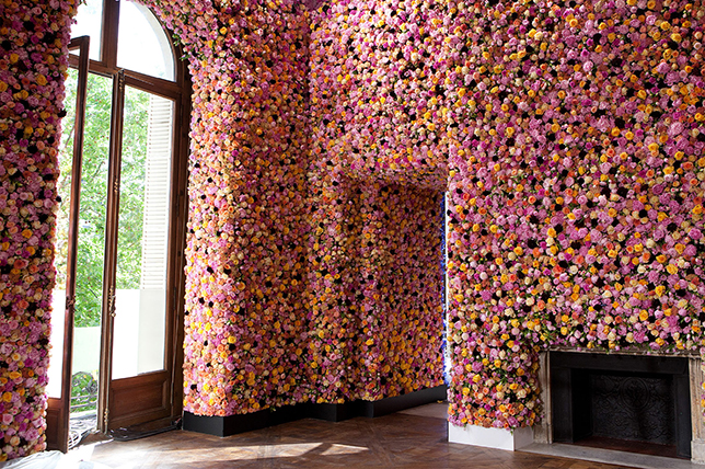 living room wall decor ideas dried floral