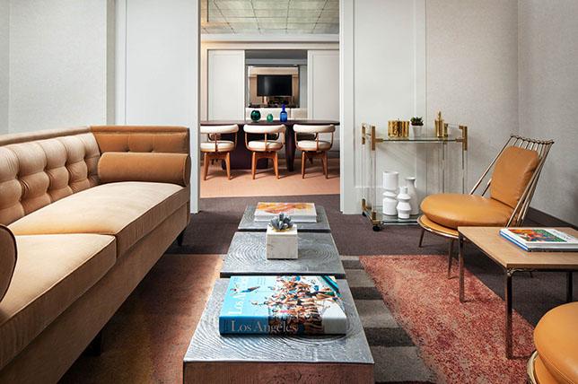 tonal living room interior design 2019