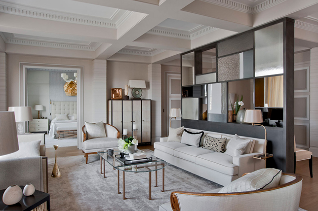 Contemporary style interior design