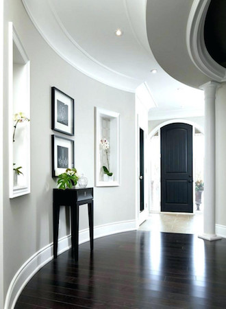 Entrance area decor ideas