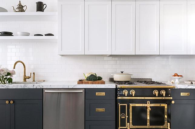 modern kitchen ideas metallic