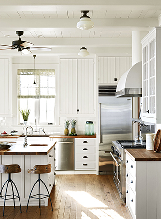 modern kitchen ideas made of dark wood