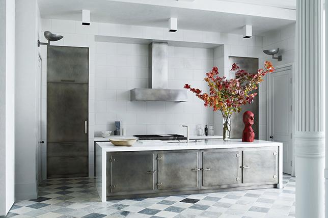 modern kitchen ideas steel