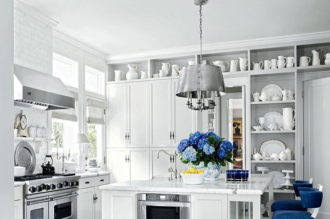 modern kitchen ideas shelves