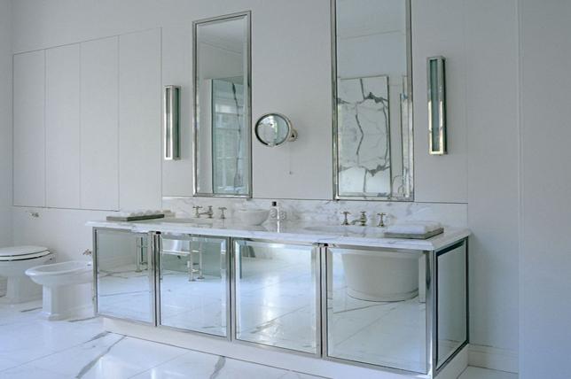 mirrored bathroom vanities 2019
