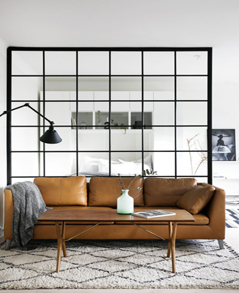 Metal living room wall divider living room wall decor ideas